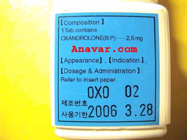 Oxandrolone korea